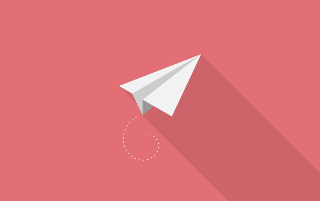 aircraft, paper, red