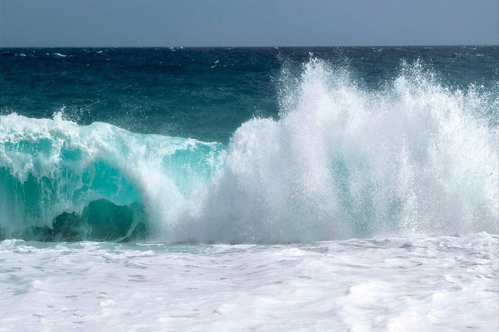 landscape, wave, sea