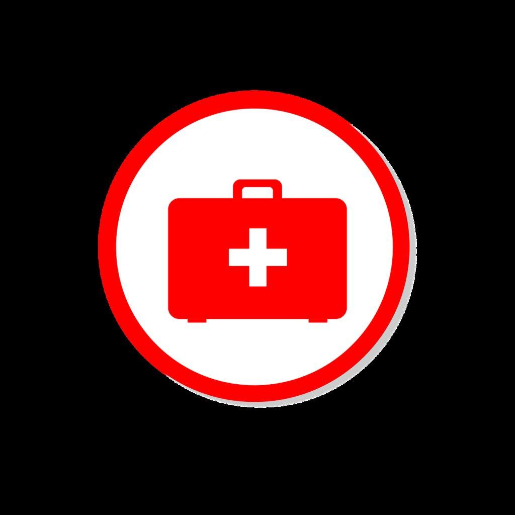 sign, medicine, suitcase