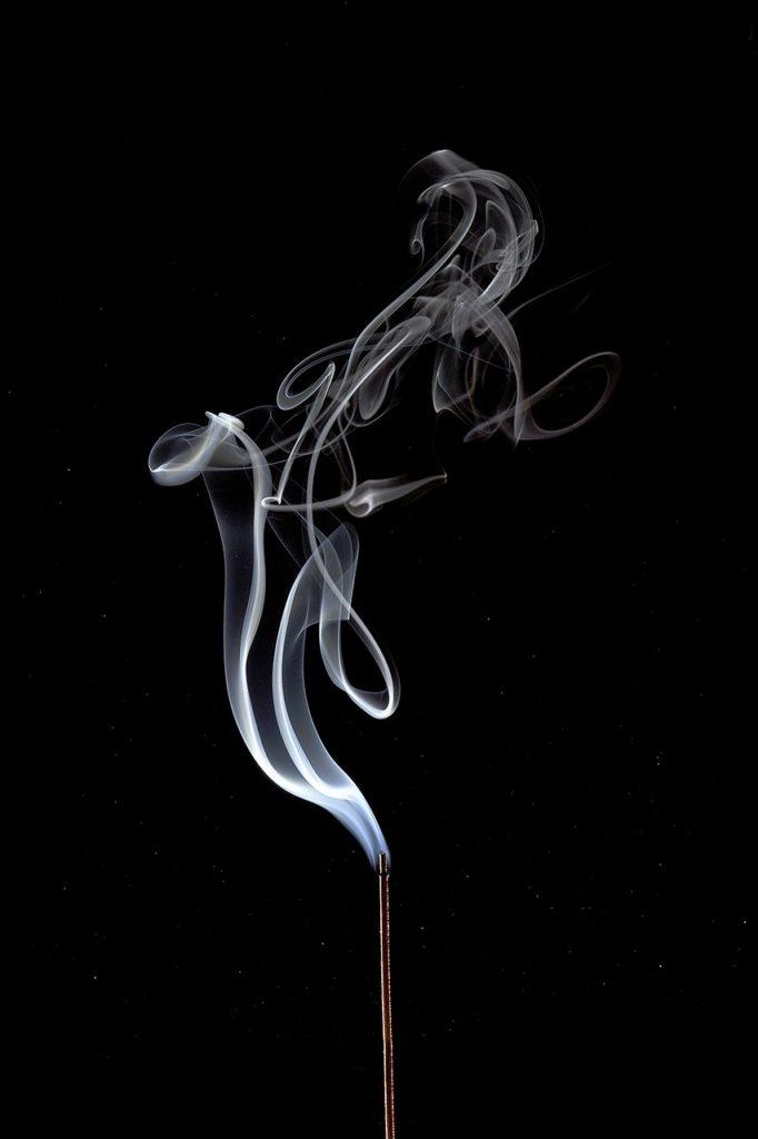 smoke, dark, smoking